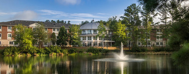 Rendering of The Georgian Lakeside, a senior living home in Roswell, GA.